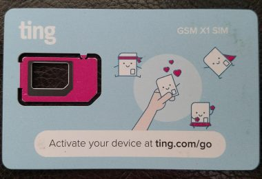 Ting card